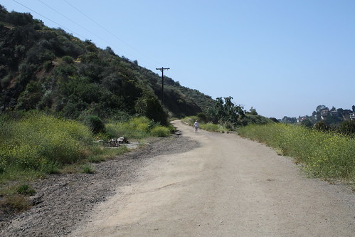 Bronson Canyon Trail at Griffith Park