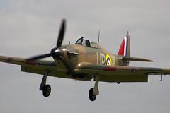 G-HUPW - R4118 - G5-92301 - Private - Hawker Hurricane I - 060827 - Little Gransden - Steven Gray - CRW_4675