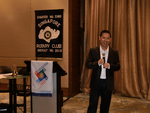 Talk at Rotary Club
