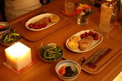 結婚一周年:自宅ディナー
