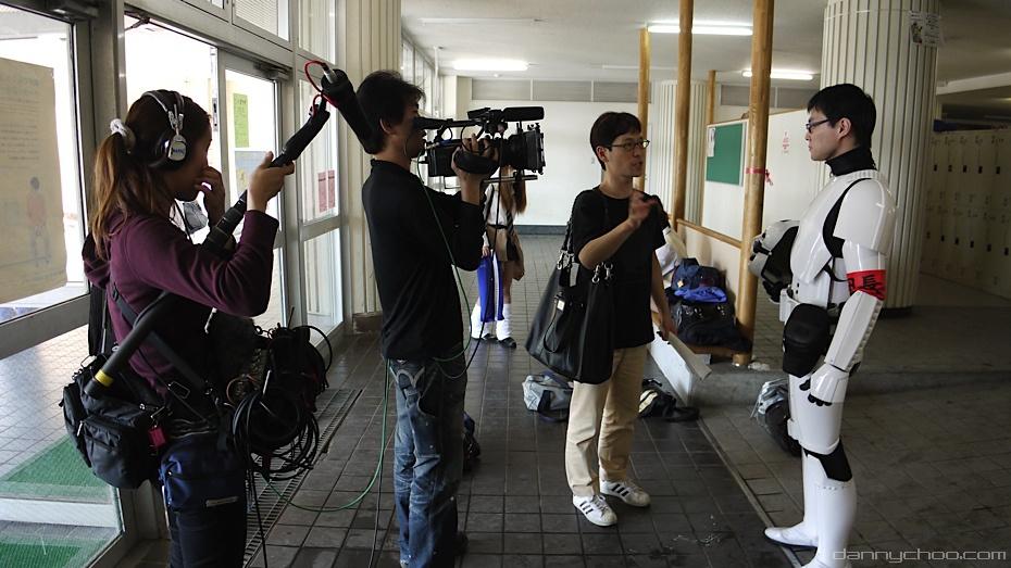 Star Wars y como se vive en una escula Japones