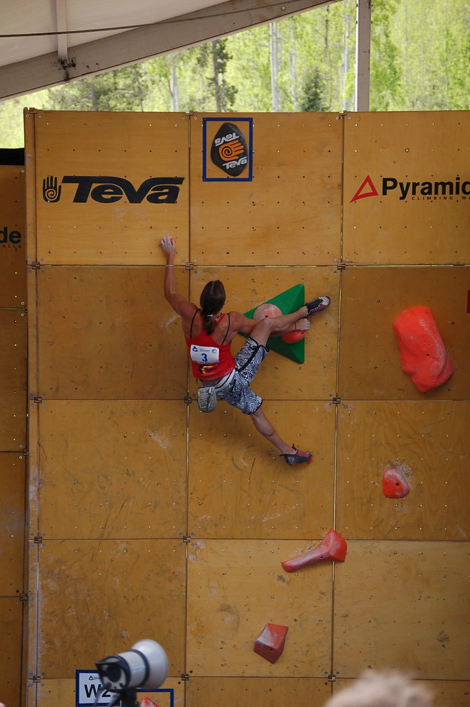 Teva Mountain Games: Climbing SemiFinals