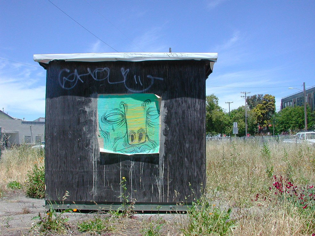 NINA, STM, Oakland, Graffiti, Street Art