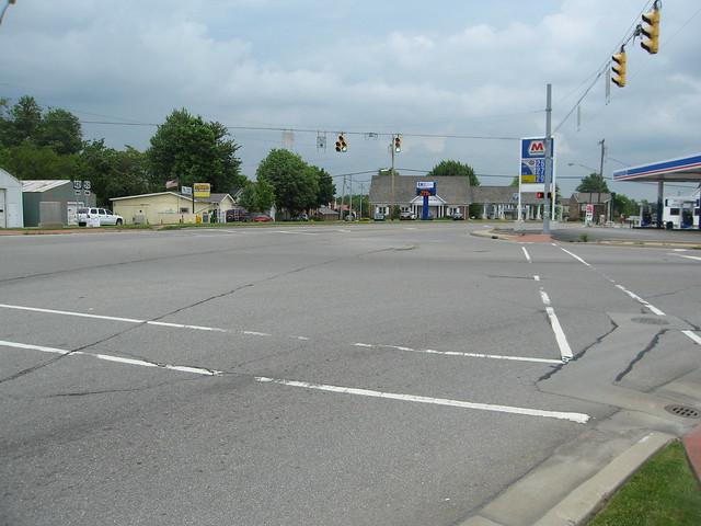 US 50 in Versailles
