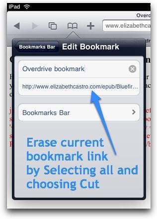 Erase old link