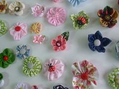 As flores da ana (Irene Sarranheira) Tags: amigos artesanato fuxico premios artes aprender criatividade sorteio passoapasso seguidores leitores floresdetecido
