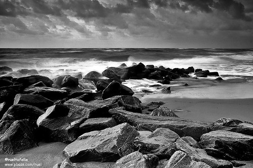 Black And White Photography Beach Scenes