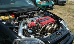Mmmmm....turbo drag EK (jaysenbrockman) Tags: race drag full turbo civic ek hatch jdm nhra gsr b18c1 fullrace