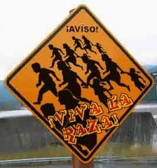 illegals signpost