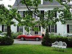 Elmcroft Place 009 (redvette) Tags: corvette rivervalleyvettes redvette tomhiltz