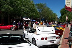 Lots of vettes (redvette) Tags: corvette rivervalleyvettes redvette tomhiltz