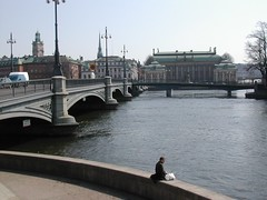 Stockholm (Glazgow) Tags: bridge water sweden stockholm