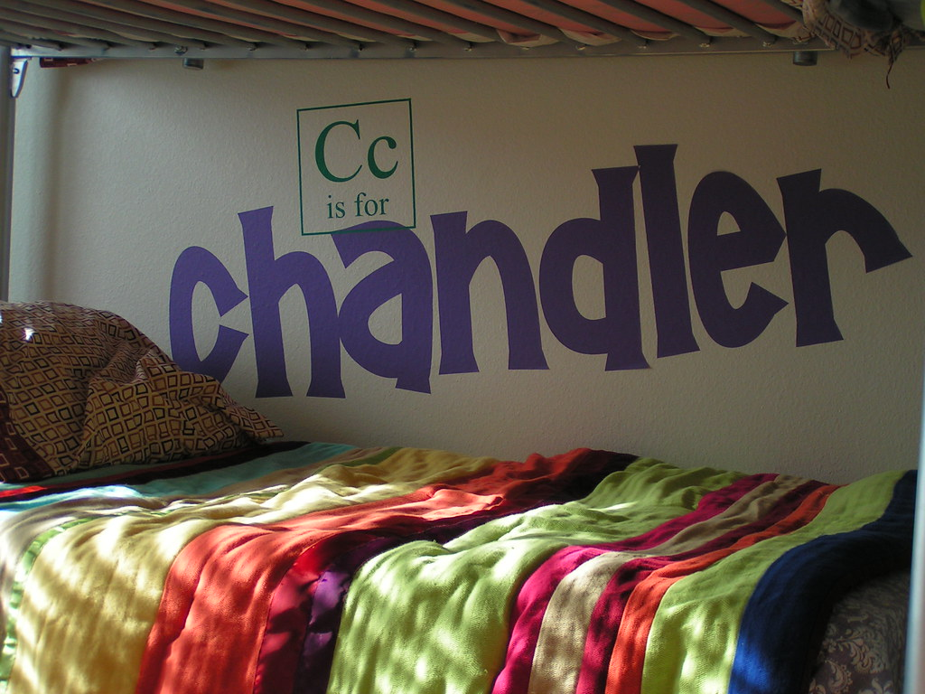 c is for chandler!!