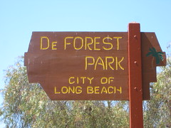DeForest Park Sign