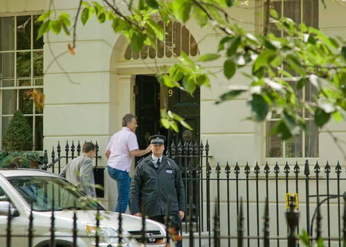 Tony Blair takes residence in Connaught Square