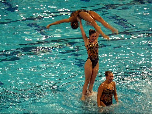 Synchronized Swimming Lifts. synchronizedswimming
