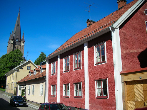 Wandering through time in old Mariestad #8