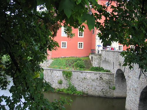 Moat at Cervena Lhota