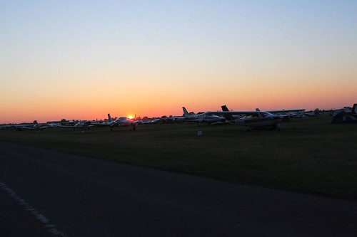 Sunset over Oshkosh