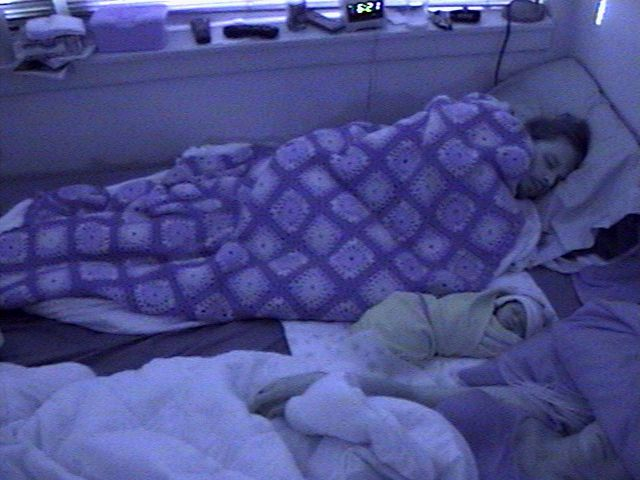 Ana M and Lili Sleeping