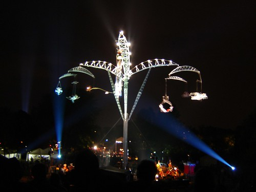 French Acrobatic Performance