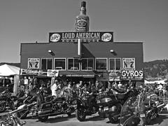 Loud American Roadhouse (Lufitoom) Tags: black bike southdakota blackhills south rally motorcycles bikes hills american motorcycle biker coolest loud dakota sturgis bikers roadhouse 2007 loudamericanroadhouse