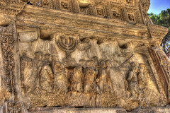 Sacking of Jerusalem - Arch of Titus