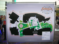 Map of Google Headquarters - Googledance