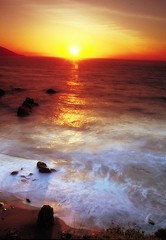 big sur sunset () Tags: california sunset usa color andy landscape andrea andrew uniti benedetti stati