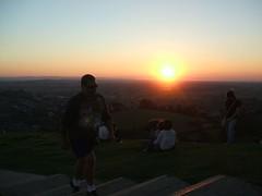 Sunset.. (sunin) Tags: glastonbury freakcity isleofavalon freakcitycamping2007