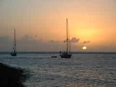 St. Lucia Sunset (bekahlp) Tags: sunset beach caribbean stlucia soufriere