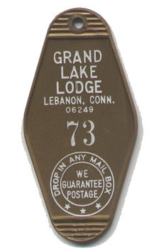 Grand Lake Lodge Key Ring 73