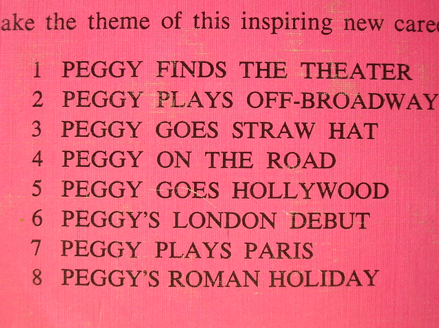 peggy gets around