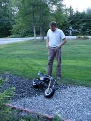 8-22-07 Mini motorcycle (10) (jenpilot) Tags: silly motorcycle artie minimotorcycle