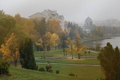 der Herbst in Ternopil (ipernity.com/doc/d-f [hat Suckr verlassen]) Tags: ukraine ukraina   oblastternopil   ternopil tarnopol   herbst autumn  regen rain  see lake jezioro  d60 nikond60 galizien galicja galicia