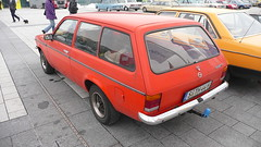 Opel Kadett (Ilia Goranov) Tags: red classic car vintage germany deutschland retro vehicle opel kadett                 shtuttgart