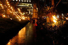 Singapore Arts Festival Opening: A Fire Garden Installation (pmorgan) Tags: art singapore theatre circus performingarts nightlife fireperformance circusarts singaporeartsfestival performingart circuses fireperformer compagnecarabosse