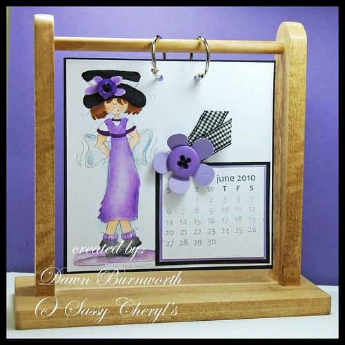 Sassy Cheryl's Calendar JUne