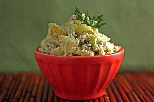 Healthy. Delicious. Creamy Potato Salad, Hold the Mayo