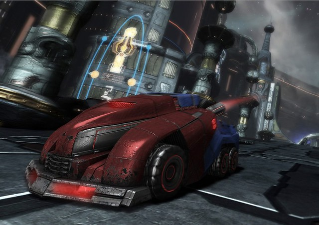Screenshot Transformers War for Cybertron alternate Optimus
