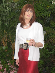 28 - On returning home (Julie Bracken) Tags: old portrait fashion hair tv cd space crossdressing tgirl transgender mature tranny transvestite fourth pantyhose crossdresser crossdress tg trannie mtf travesti m2f tfs feminized enfemme xdresser tgurl feminised transsisters julieb85 thefourthspace