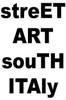 STREET ART SOUTH ITALY