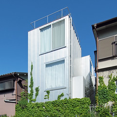 HOUSE A: Ryue Nishizawa, Dec. 2006 (wakiiii) Tags: house japan architecture 建築 s5pro nikkor1224mmf4gifed contemporary 西澤立衛