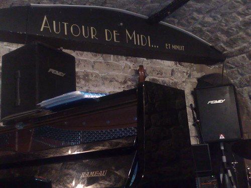 The Cave au Jazz at Autour de midi...et minuit