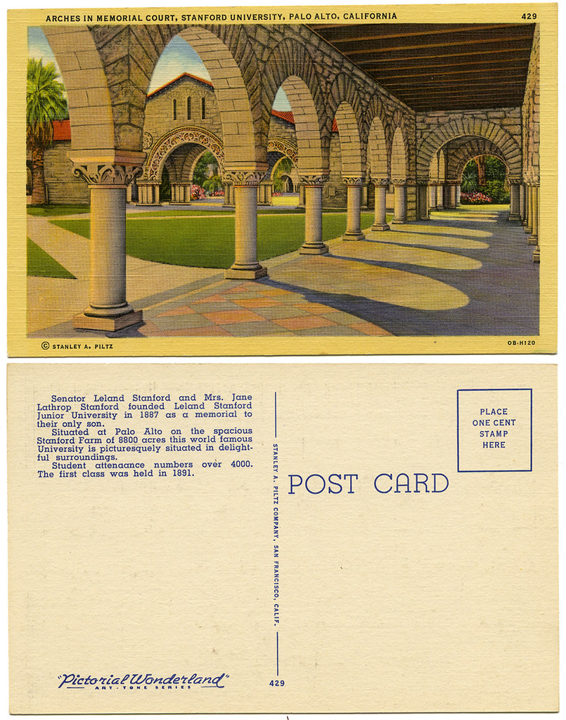 Stanford University Memorial Court_tatteredandlost