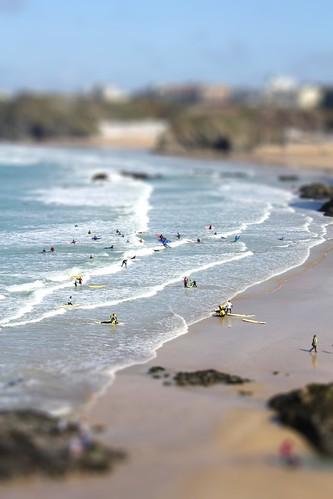Cornwall in Miniature - Fistral Beach