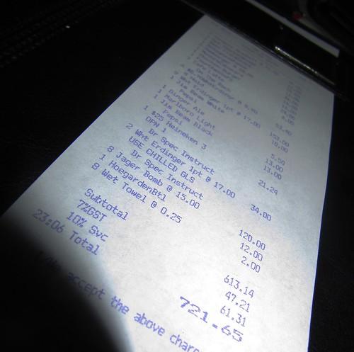 The bill!