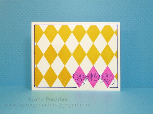 Argyle Congrats One Layer (1)
