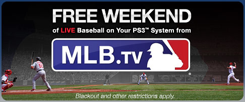 MLB Free Weekend