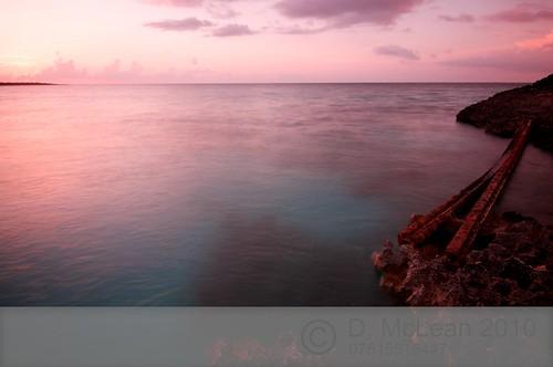 Sunset at Cayo Coco, Cuba.